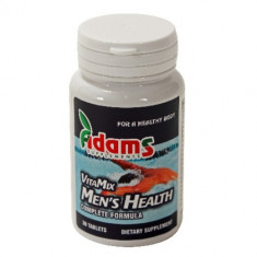 Complex VitaMix barbati (multivitamin&mineral), 30cps, Adams Vision