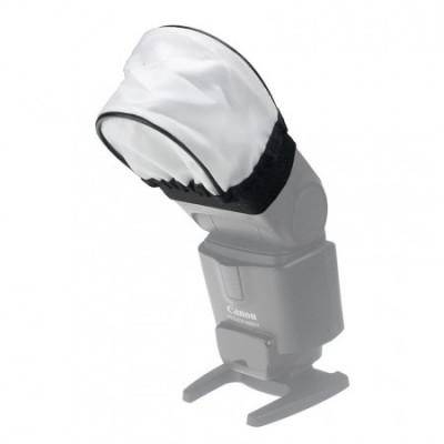 Softbox Universal Flash Bounce Diffuser din material textil pt. Flash foto