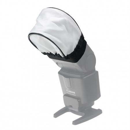 Softbox Universal Flash Bounce Diffuser din material textil pt. Flash
