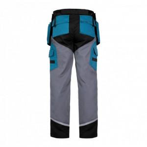 Pantaloni lucru grosi premium, 24 buzunare, 2 inele pentru scule, talie ajustabila, marime XL