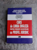 CURS DE LIMBA ENGLEZA PENTRU STUDENTII FACULTATILOR CU PROFIL JURIDIC