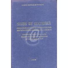 Studii de statistica. Probleme actuale si de perspectiva ale statisticii economice si sociale