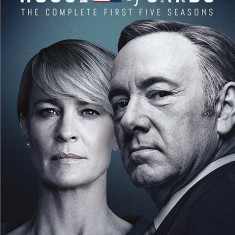Film Serial House Of Cards / Culisele Puterii DVD BoxSet Seasons 1-5, Drama, Engleza, columbia pictures
