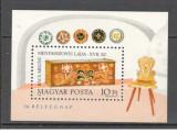 Ungaria.1981 Ziua marcii postale:Lada de zestre-Bl.  SU.201
