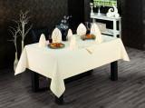 Față de masă Valentini Bianco, Model Honey, 160×220 cm, culoare Crem