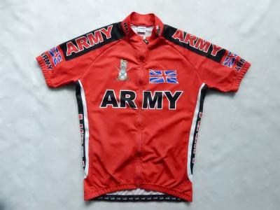 Tricou ciclism Velo Cycling Wear Army Union. Marime L, vezi dimensiuni exacte foto