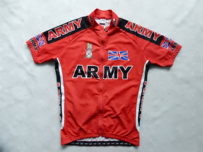 Tricou ciclism Velo Cycling Wear Army Union. Marime L, vezi dimensiuni exacte