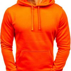 Bluză cu glugă pentru bărbat portocaliu-deschis Bolf AK47A