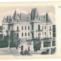724 - CRAIOVA, Dinu Mihail Palace, Litho, Romania - old postcard - unused, Necirculata, Printata