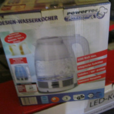 Fierbator Electric Powertec, 1.7 L, 2200W