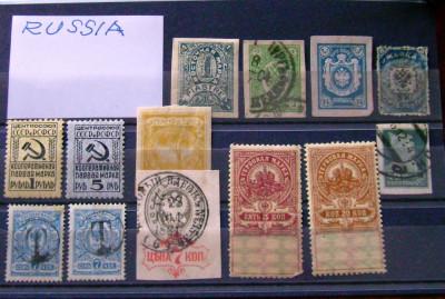 Rusia Veche-Timbre RARE !!! foto