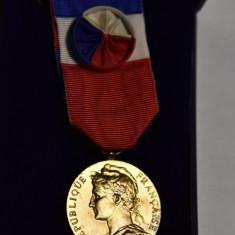 Medalie Republique Francais Ministere du Travail - Decoratie Franta 1985