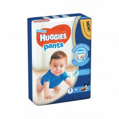 Scutece Huggies Mega Pants Boys, Nr 3, 6 - 11 Kg, 58 buc