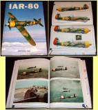 IAR-80 Monografie avion militar romanesc, ilustratii avioane, machete aviatie, Alta editura