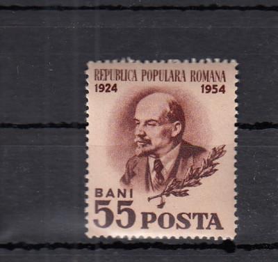 ROMANIA  1954   LP 359  V. I. LENIN   MNH foto