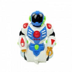 Robotel Dansator invartire miscare muzica luminite multicolor 19 cm
