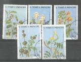 Sao Tome e Principe 1988 Plants, used M.260