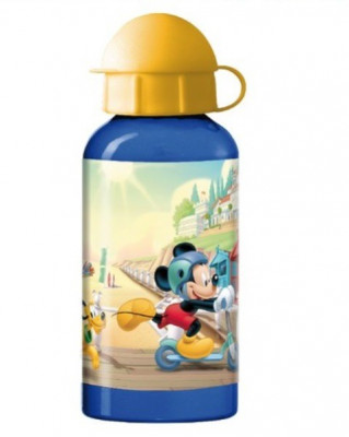 Sticla termos cu picurator Mickey Mouse foto