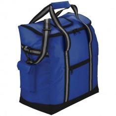 Geanta termoizolanta pentru plaja, Everestus, BH, 70D nylon, albastru, pastila racire inclusa
