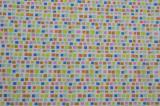 Cearceaf colorat Mozaic cu elastic pentru saltea 70 x 140 cm