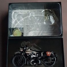 Macheta 1 12 Minichamps  Motocicleta Brough Superior SS 100