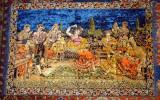 Carpeta perete vintage Dansatoare andaluza - anii 1970 Epoca de Aur