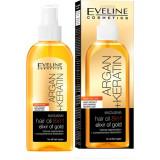 Ulei de par, Eveline Cosmetics, 8 in 1 Argan + Keratina, Elixir of Gold, 150 ml