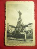 Ilustrata Arad - Obeliscul secuilor martiri , inc.sec.XX, Necirculata, Printata