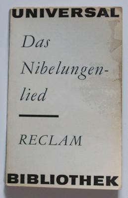 Das Nibelungenlied (Cântecul Nibelungilor) foto