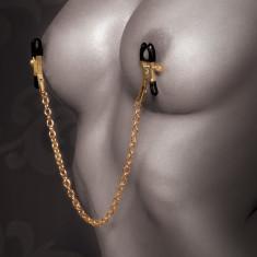 Lant Sfarcuri Nipple Clamp Gold Chain