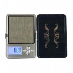 Mini Cantar pentru bijuterii, 200 g, LCD, precizie 0.01 g, Profesional, Husa