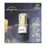 Bec LED SMD 4W Bulb Alb Natural 4000K G4 12V Skyline SL1388, Becuri LED