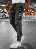 Pantaloni de trening gri Bolf TC950