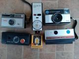 Cumpara ieftin Lot aparate foto vechi vintage blitz lampa Agfa Metz Optima Kodak Instamatic