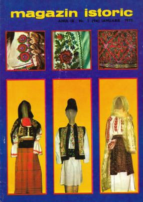 Magazin Istoric - anul 9 - nr. 1 (94) - ianuarie 1975 (C186) foto