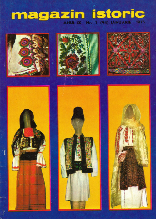 Magazin Istoric - anul 9 - nr. 1 (94) - ianuarie 1975 (C186)
