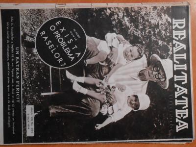 Revista Realitatea Ilustrata, 8 iul 1934, stare foarte buna foto