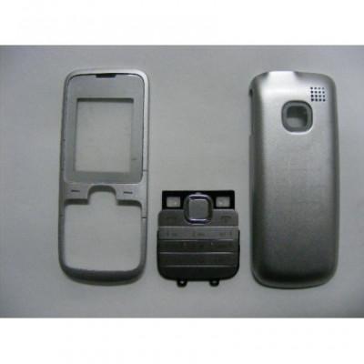 Carcasa Nokia C1-01 Gri cu Tastatura foto