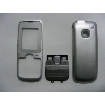 Carcasa Nokia C1-01 Gri cu Tastatura