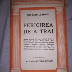 JOHN LUBBOCK - FERICIREA DE A TRAI
