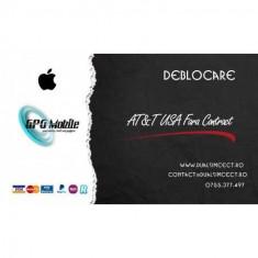 Deblocare Oficiala Apple iPhone AT&T USA Fara Contract
