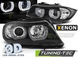 Faruri compatibile cu Bmw E90/E91 03.05-08.08 3D U-TYPE Negru HID