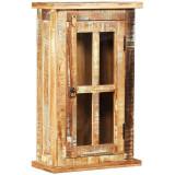 Dulap de perete din lemn masiv reciclat, 44 x 21 x 72 cm