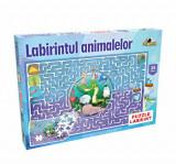 Puzzle Labirintul animalelor, 35 piese, Noriel