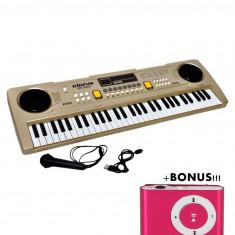 PROMOTIE! ORGA 61 TASTE,MICROFON,INREGISTRARE,ALIMENTARE PRIZA USB+BONUS MP3 !!