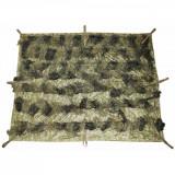 "MFH Patura Camuflaj Camo Blanket ""Ghillie"" Woodland 3 x 1.5m 07753T"