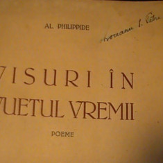 VISURI IN VUIETUL VREMII-POEME- AL PHILIPPIDE-