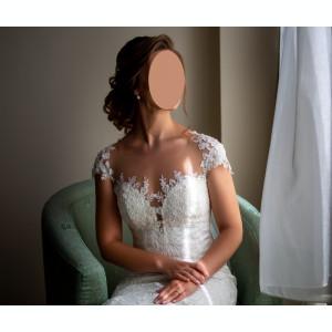 Rochie de mireasă tip sirenă