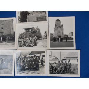 LOT 7 FOTOGRAFII MILITARI , CLUJ , TURDA , 1937