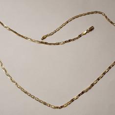 Lant din aur galben 18K, unisex, model italian